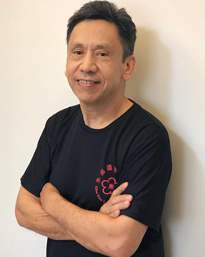 Steven Wang - head instructor at Wing Chun Singapore
